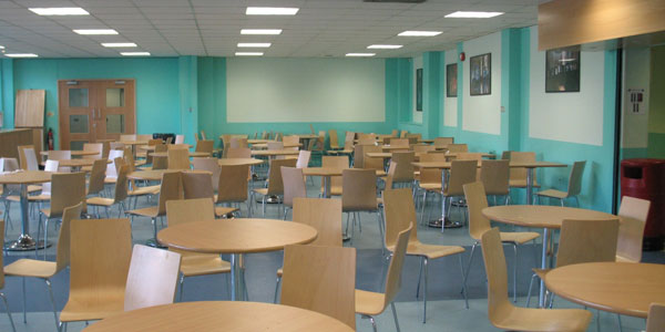 school dining hall
